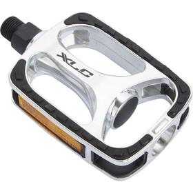 XLC PD-C03 SB-Plus City/Comfort pedał, silver/black